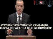 """Erdoğan:""""Mustafa Kemal'in Adını Ağızlarına Almayı Hak Etmiyorlar"""""""