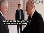 Başbakan MHP lideriyle Çankaya'da görüştü