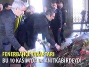 3 bin Fenerbahçeli Ata'nın huzurunda