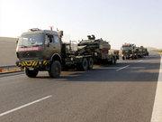 Sınır bölgesine tank ve zırhlı araçlar sevk edildi