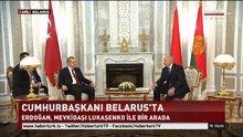 Cumhurbaşkanı Erdoğan Belarus'ta