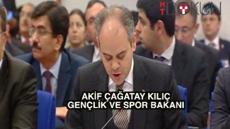 """Bakan Kılıç: """"6 milyon 789 bin lisanslı sporcumuz var"""""""