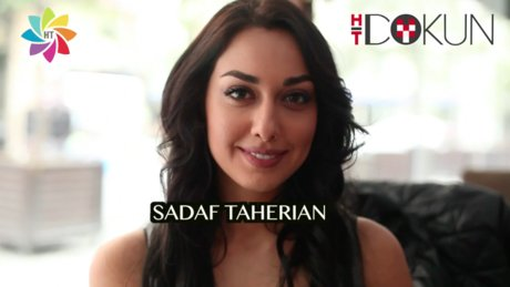 İranlı aktris Sadaf Taherian Habertürk'e konuştu