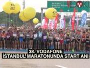 38. Vodafone Maratonu'ndan renkli görüntüler