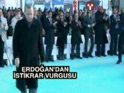Erdoğan ve Yıldırım gemi uğurladı