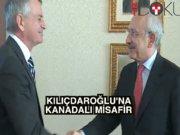 Kılıçdaroğlu, Kanada Büyükelçisiyle görüştü