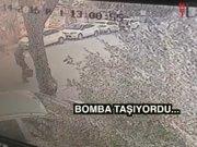 Maltepe'de şirkete gelen kargo patladı