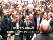Cumhuriyet'e 'cüppeli' yürüyüş