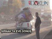 Şırnak'ta sokağa çıkış, eve dönüş