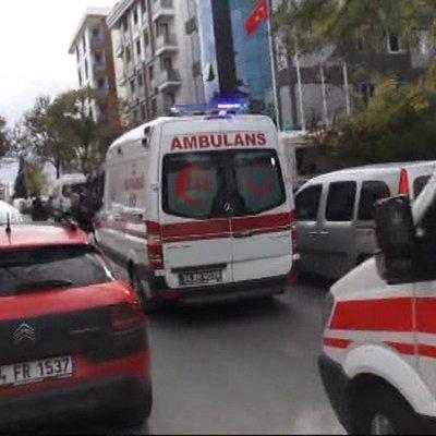 Maltepe'de şirkete gelen kargo paketi patladı!