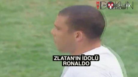 Zlatan'dan yumuşak açıklama: Ronaldo gibi olmak isterdim