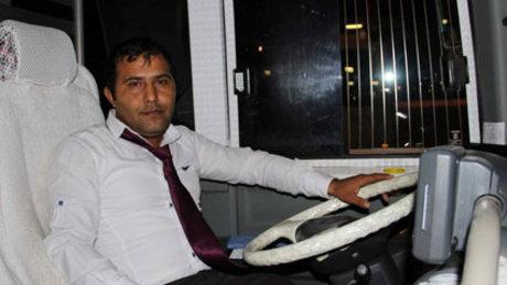 Rahatsızlanan kadını hastaneye otobüs şoförü yetiştirdi