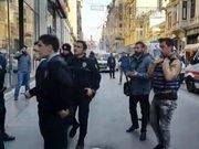 İstiklal Caddesi'nde silahlı kavga