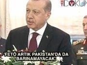 """Cumhurbaşkanı Erdoğan: """"FETÖ artık Pakistan'da da barınamayacak"""""""
