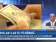 Dolar/TL 3.40 tl'yi gördü