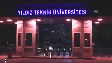 Yıldız Teknik Üniversitesinde FETÖ operasyonu
