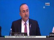 Dışişleri Bakanı,NATO Parlamenterler toplantısı'nda konuştu