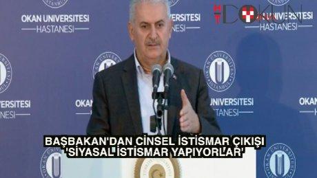 """Başbakan Yıldırım: """"Siyasi istismar yapıyorlar"""""""