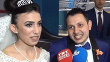 Metro istasyonunda nikah kıyıldı