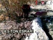 PKK'ya finansal darbe: 8.5 ton esrar yakalandı