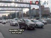 Mahmutbey gişeleri kalktı, trafik nefes aldı