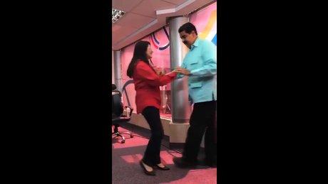 Venezuela'da başkan Maduro'dan 'Salsa Saati'