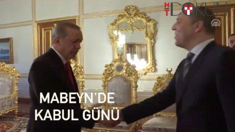 Erdoğan Stoltenberg ve Parubiy'i kabul etti
