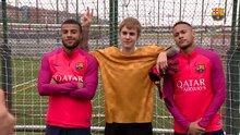 Justin Bieber Barcelona antrenmanında