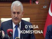 """Başbakan Yıldırım: """"Cinsel istismar düzenlemesi komisyona geri çekildi"""""""