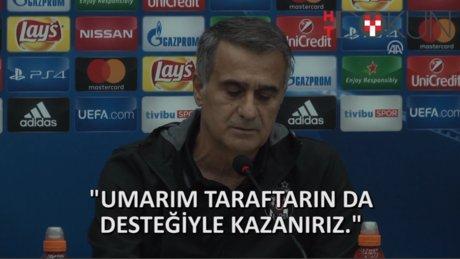 SPOR - Beşiktaş - Benfica öncesi basın toplantısı