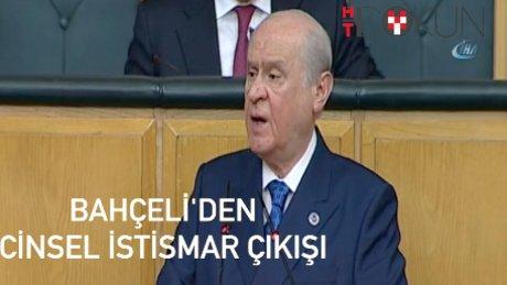 """MHP Lideri Bahçeli: """"Bu sapıkları savunmak..."""""""