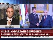 Binali Yıldırım-Barzani görüşmesi başladı