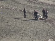İşadamını arayan ekip, gölde ceset parçası buldu