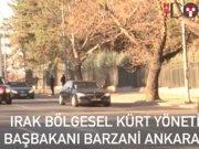 Başbakan Yıldırım ve Çavuşoğlu Barzani ile görüştü