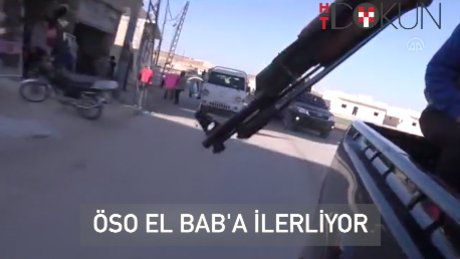 ÖSO birlikleri El-Bab hattında