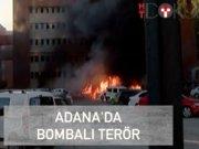 Valilik otoparkında bombalı terör
