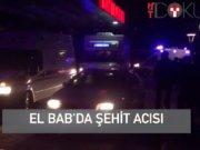 El Bab'da 3 şehit