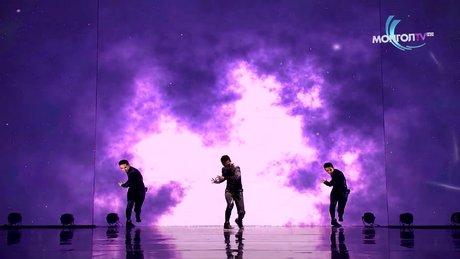Yetenek yarışmasında harika koreografi