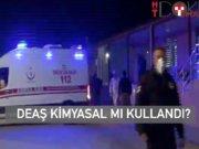 El Bab'da, DEAŞ saldırısında kimyasal şüphesi