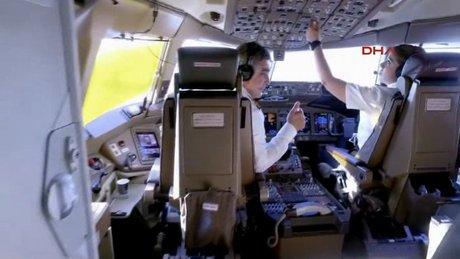 THY de modaya uydu, uçuş ekibi dondu!