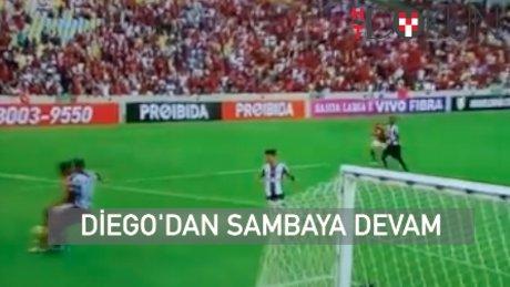Diego'dan enfes gol