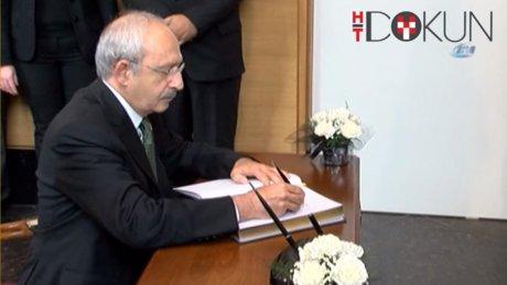 Kılıçdaroğlu Küba Büyükelçiliği'ni ziyaret etti.