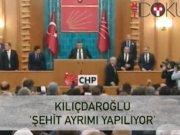 """Kılıçdaroğlu: """"Şehitler arasındaki ayrımı kaldıralım"""""""