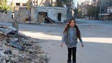 Halepli küçük kız ve annesinden mesaj var!