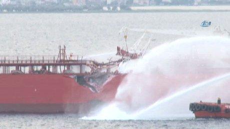 Çanakkale Boğazı'nda tanker kazası