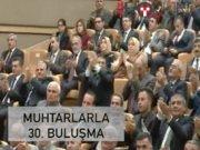 Cumhurbaşkanı Erdoğan 30. kez muhtarlarla