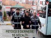 İzmir'de 3 derneğe 55 FETÖ gözaltısı!