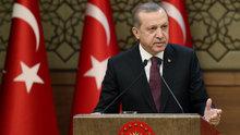 """Erdoğan, """"Türkiye tek başına da kalsa terör örgütleriyle mücadelesini sürdürecektir"""""""