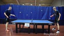 Masa tenisinde sınırları zorladılar
