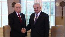 Başbakan Yıldırım ve MHP Lideri Bahçeli görüşmesi başladı
